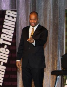 Speaking at the Lady and the Champs Conference. Join us for the next one at www.ladyandthechampsconference.com