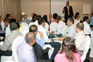 Speaking to CEOs and Executives in Sri Lanka